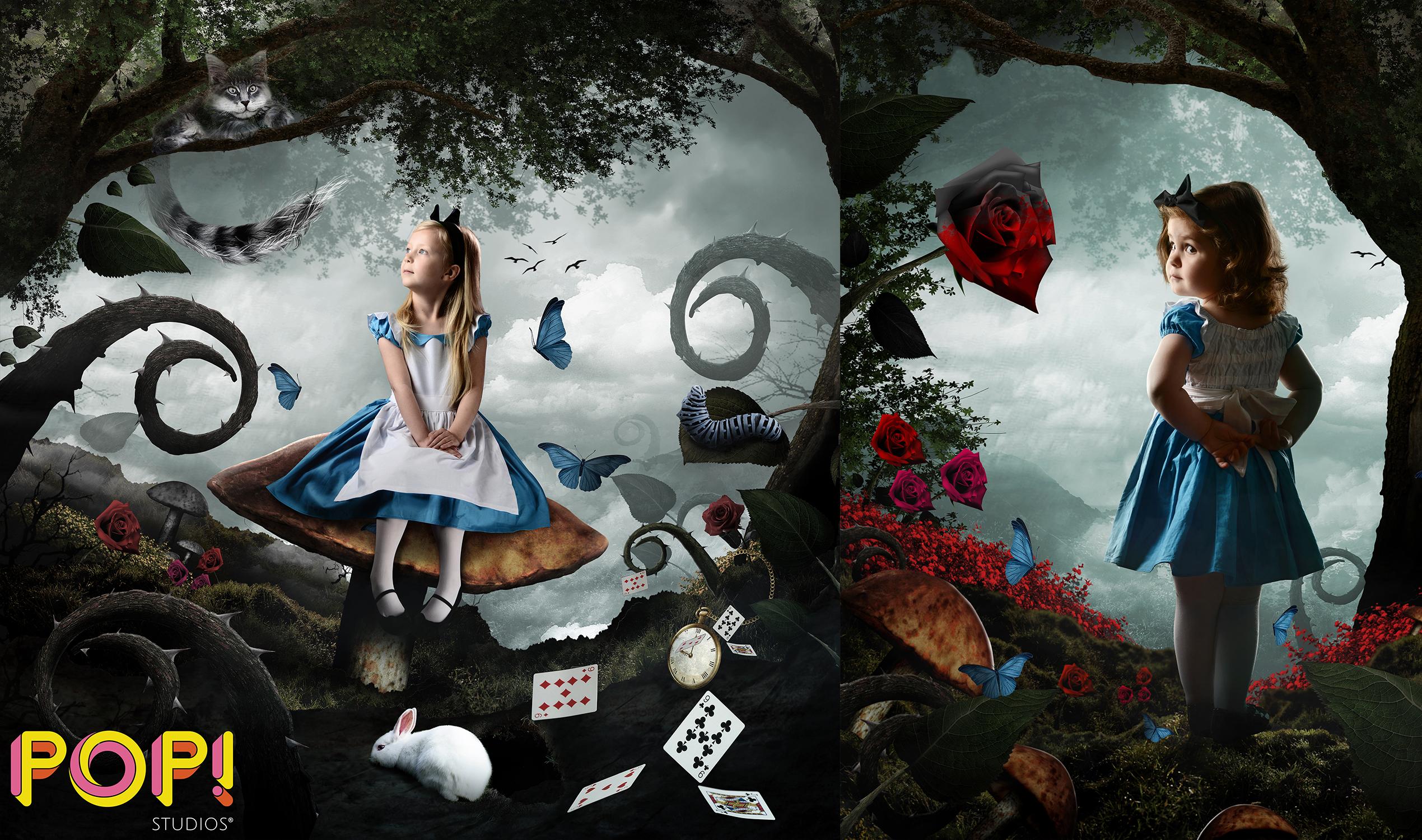Alice in Wonderland themed shoot
